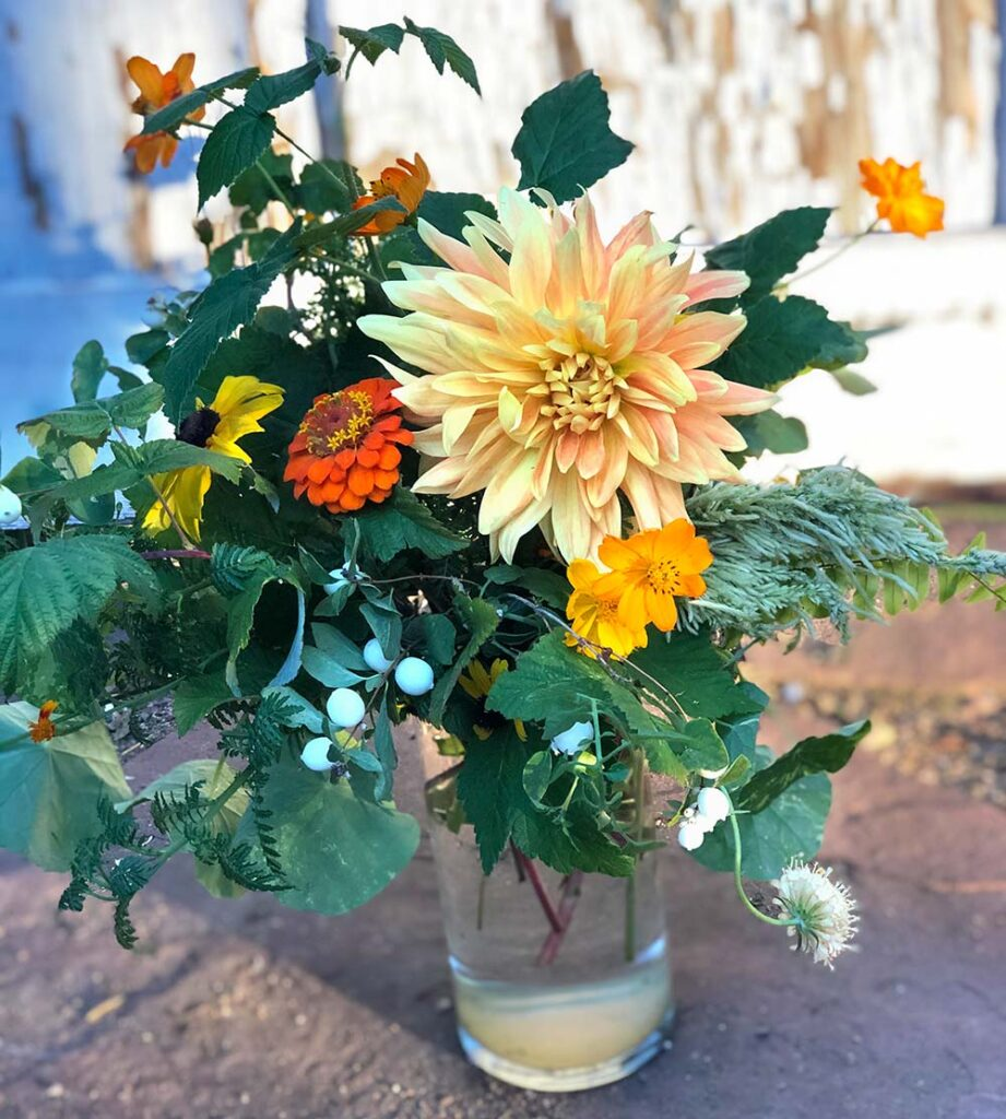 For a unique gift for flower lovers, give an unusual bouquet from a local flower farmer