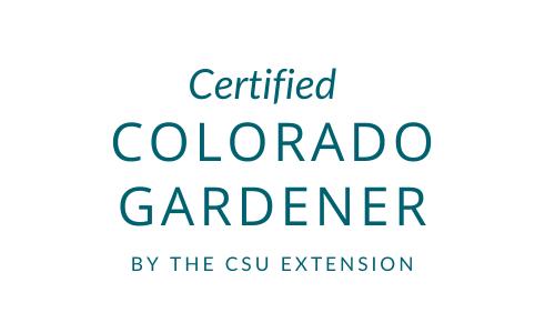 Certified Colorado Gardener by the Colorado State University Extension