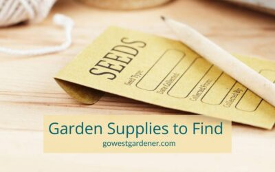 3 Garden Supplies to Shop for in March (Yep, March!)