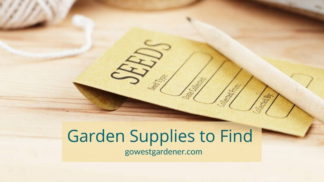 The best garden supplies to buy in months like February and March